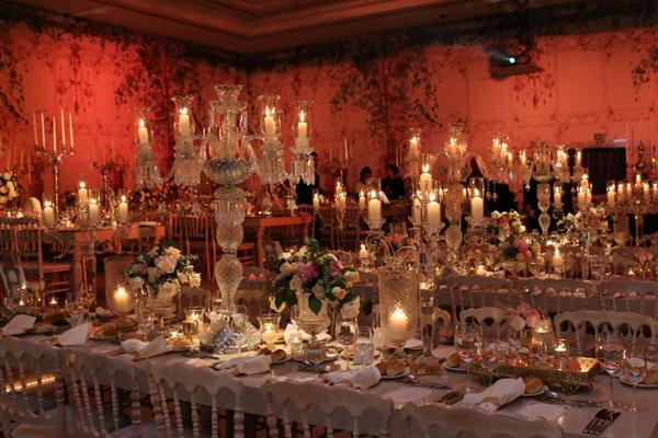 The Grand Tarabya'da masal gibi bir düğün