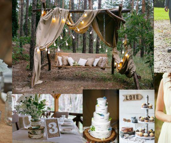 2018 de Rustik Düğünlere Devam