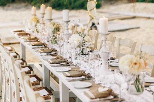 Düğün Masa Dekorları