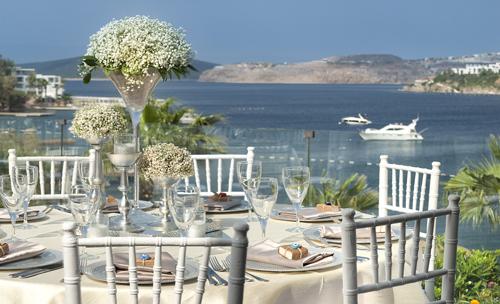 Hayallerin ötesinde bir düğün için Cape Bodrum