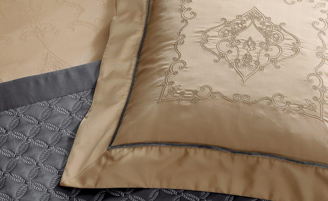 Özel rengi ve deseniyle Valeron'dan yatak odalarına seçkin bir stil…